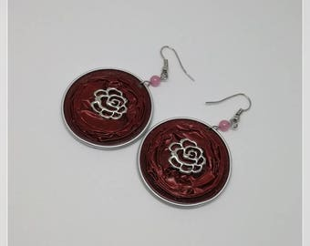 Recycled nespresso capsule earring