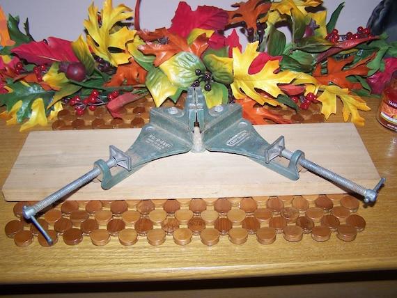 Vintage Craftsman No 9 6661 Ninety Degree Wood Vise Clamp Etsy