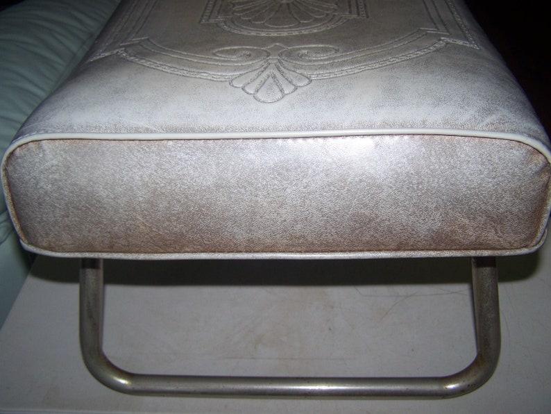 Vintage 1950/'s 1960/'s Laz-E-Rest Adjustable Foot Stool