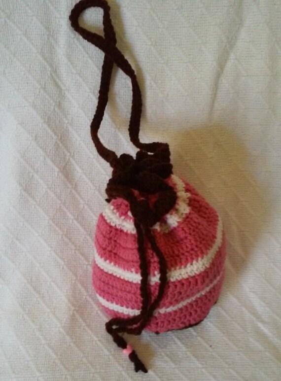 petit sac rose