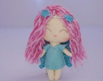 Little angel felt gingermelon dolls