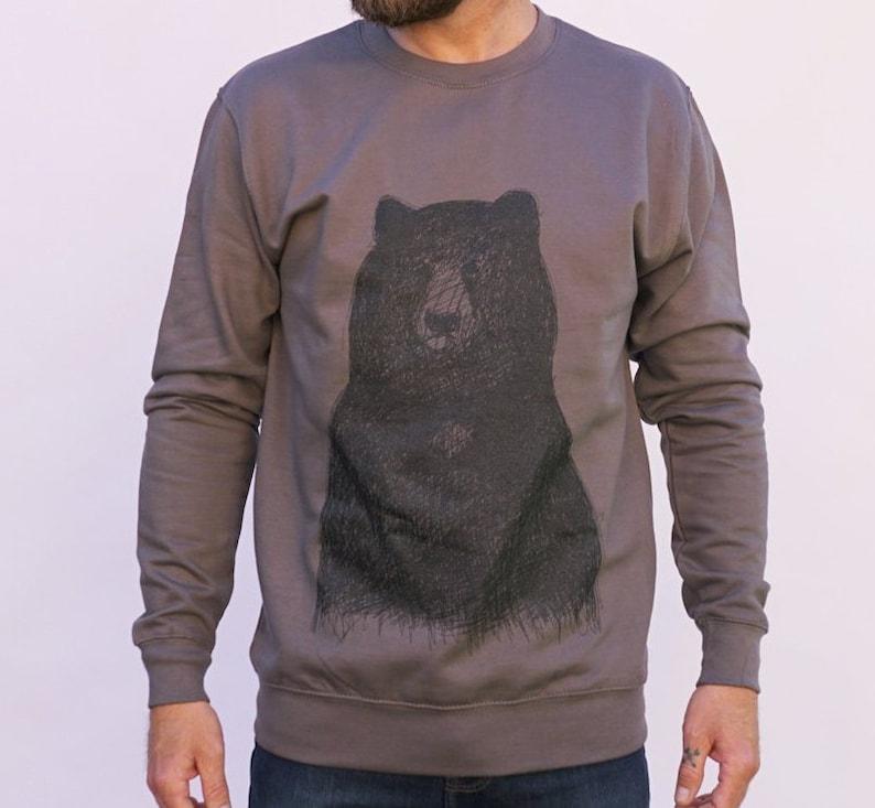Big Bear Jumper  cool bear jumper  men's bear sweater  image 0