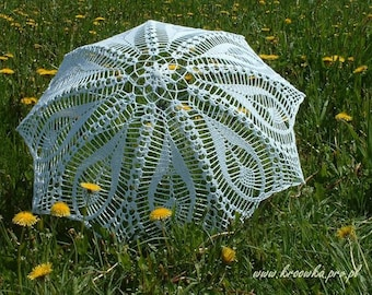 Hindu Wedding Umbrella, Indian Bridal Lace Umbrella, Garden Wedding Prop, Victorian Parasol, Bridal Party Gift, Summer Wedding Accessory