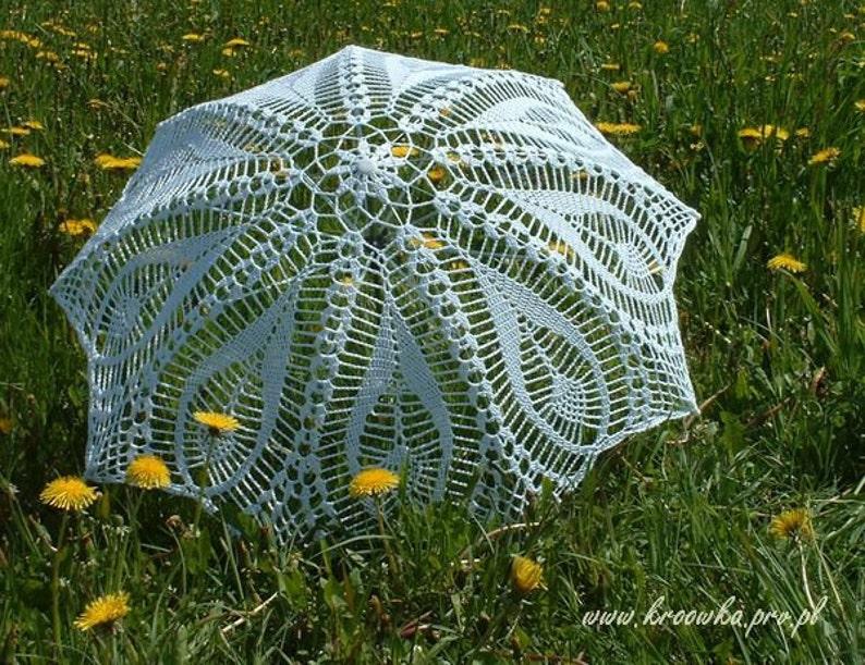 WHITE IVORY Wedding Umbrella Lace Umbrella Victorian image 0