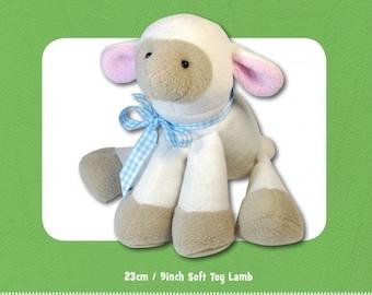 Lamkins Lamb Stuffed Toy PATTERN, Not a PDF, by Funky Friends Factory