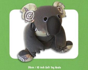 Kiki Koala Stuffed Toy PATTERN, Not a PDF, by Funky Friends Factory, Stuffed Koala Toy