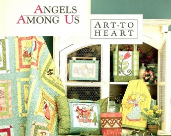 Angels Among Us Pattern and Project Booklet by Art to Heart