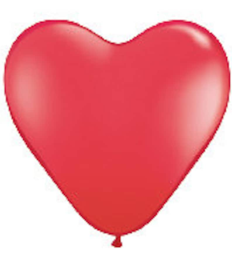 New Baby Valentine 36 inch Wedding Baptism Big Heart Shape Balloon