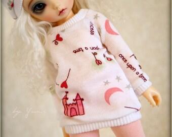 PDF PATTERN Cute Jersey tunic for LittleFee