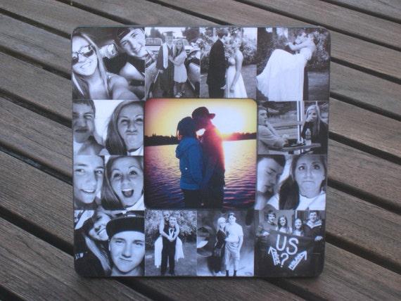 Boyfriend Collage Picture Frame Unique Graduation Gift Etsy