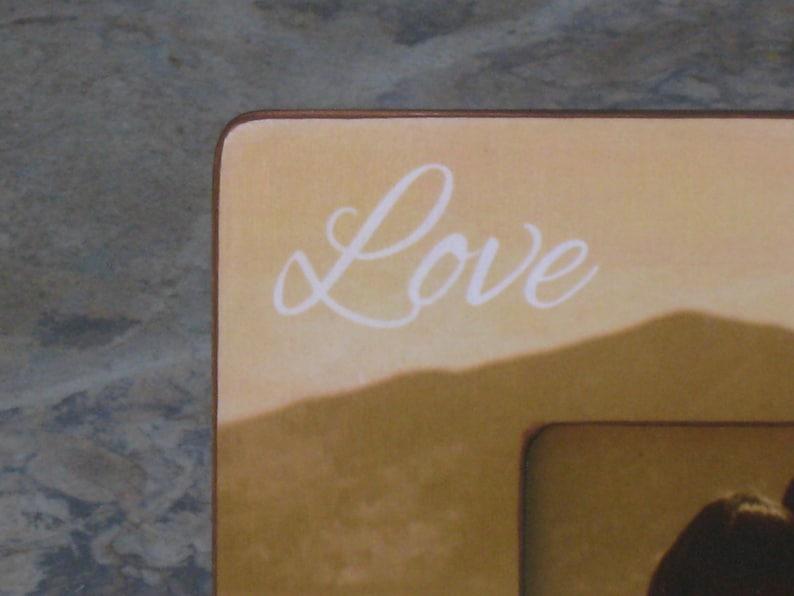 8 x 8 Unique Engagement Gift Custom Wedding Picture Frame Personalized Engagement Wedding Gift Boyfriend Gift Valentine/'s Day
