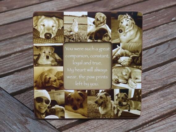 Perro Nombre Personalizado Tallada a Mano Paw Print Plus en piedra Gato Memorial De Mascotas