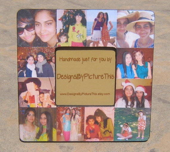 Best Friends Collage Picture Frame Unique Sister Gift Etsy