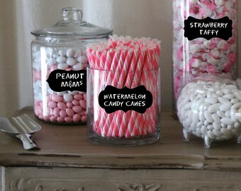 Remarkable Candy Buffet Jars Etsy Interior Design Ideas Clesiryabchikinfo
