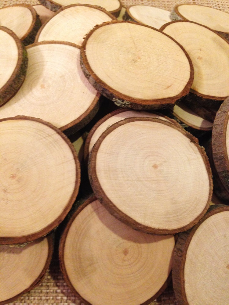 34 Wood Slice Home Décor Ideas: Wood Slices 25 2 To 2.5 Rustic Wood Slices