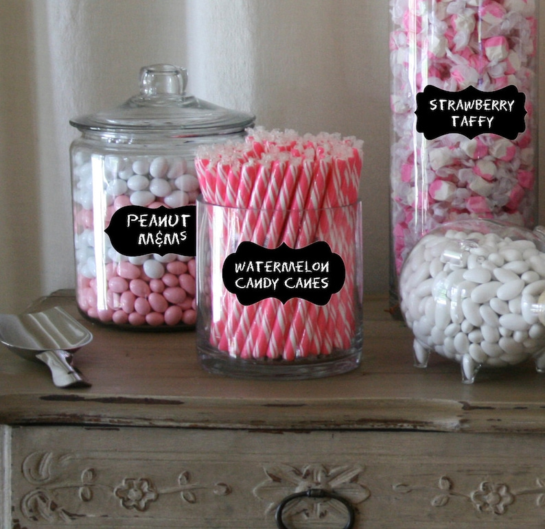 Awe Inspiring 81 Candy Buffet Labels For Candy Jars Chalkboard Labels Medium Parties Weddings Candy Buffet Jars Chalk Stickers Chalk Decals Download Free Architecture Designs Rallybritishbridgeorg