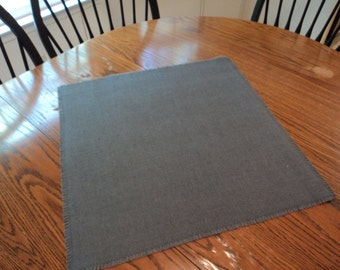 Gray Burlap Table Squares 23 Colors Available Gray Wedding Centerpiece Burlap Overlays Burlap Table Topper Gray Wedding Decorations