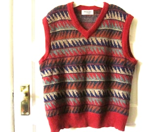 a761364c21f9 Men s Missoni Uomo Wool Sweater Vest L