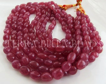 10 Inches Strand Pink Sapphire Jewellery 2X1 to 3X2 mm 10 Inch Madagascar Pink Sapphire Rondelle Faceted Beads
