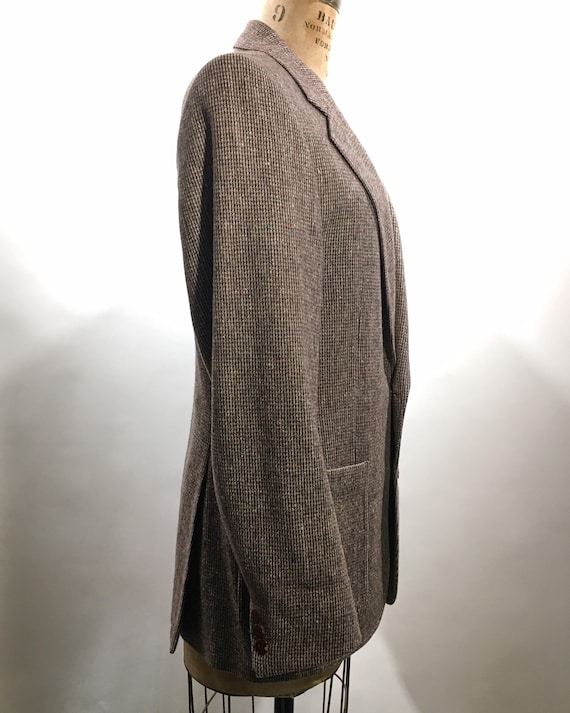 1970s Yves Saint Laurent Tweed Blazer M - image 3