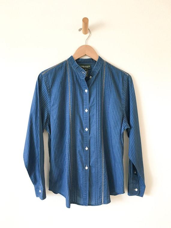 1980's Ralph Lauren Calico Print Shirt - image 1