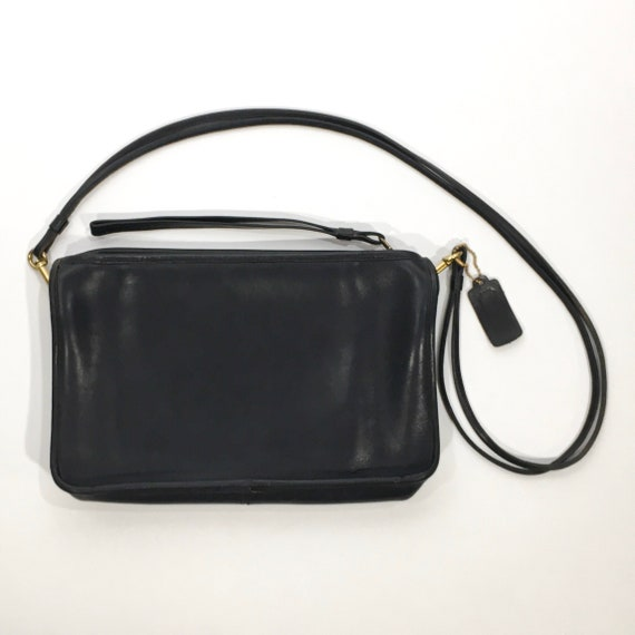 1970s Bonnie Cashin Navy Convertible Coach Purse