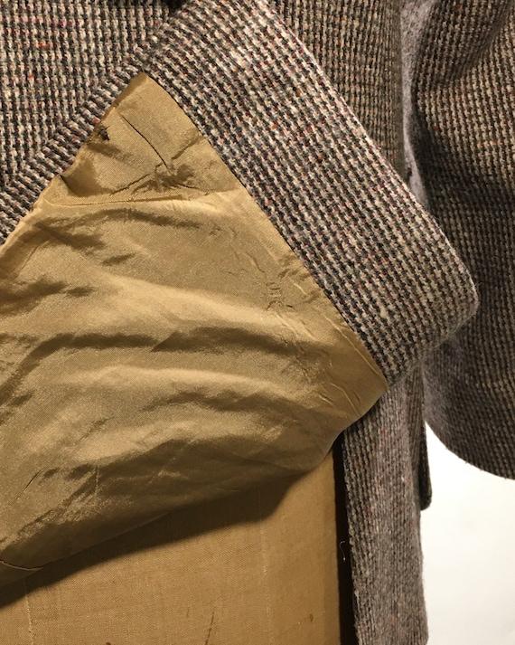 1970s Yves Saint Laurent Tweed Blazer M - image 6