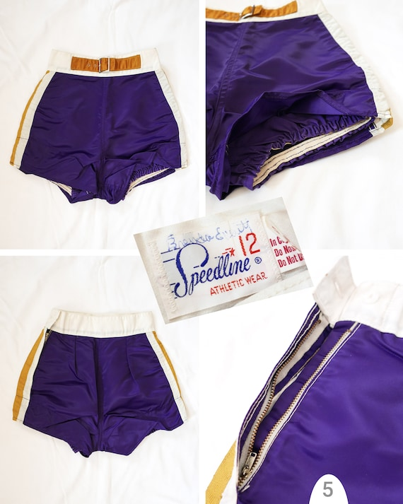 Shorts athletic womens | 1950's deadstock - image 4