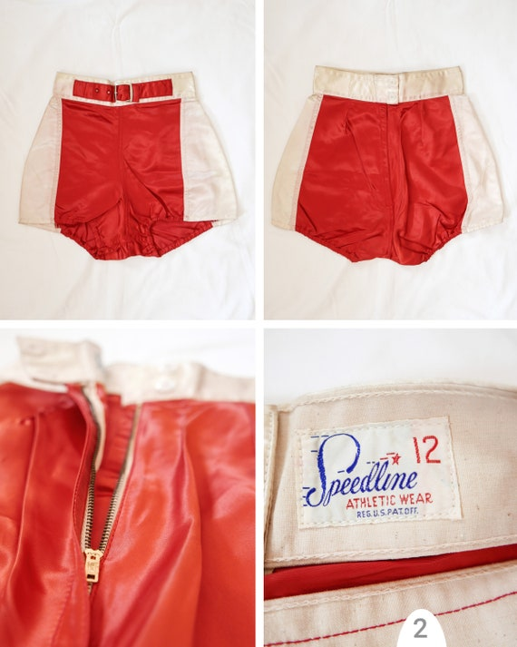 Shorts athletic womens | 1950's deadstock - image 3