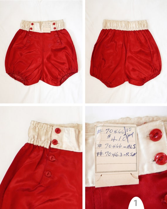 Shorts athletic womens | 1950's deadstock - image 2