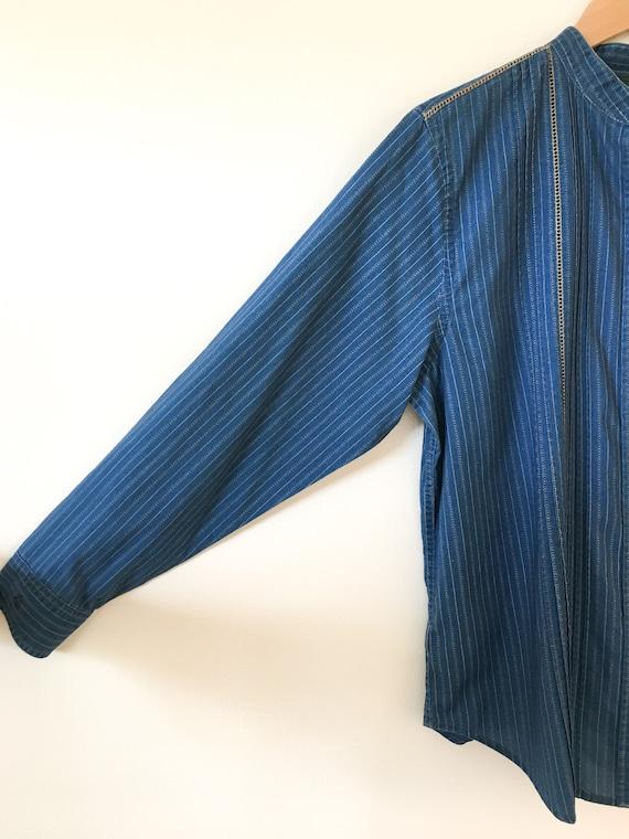 1980's Ralph Lauren Calico Print Shirt - image 3