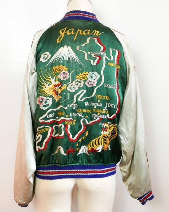 Souvenir Jacket | 1940's Japanese | Reversible!