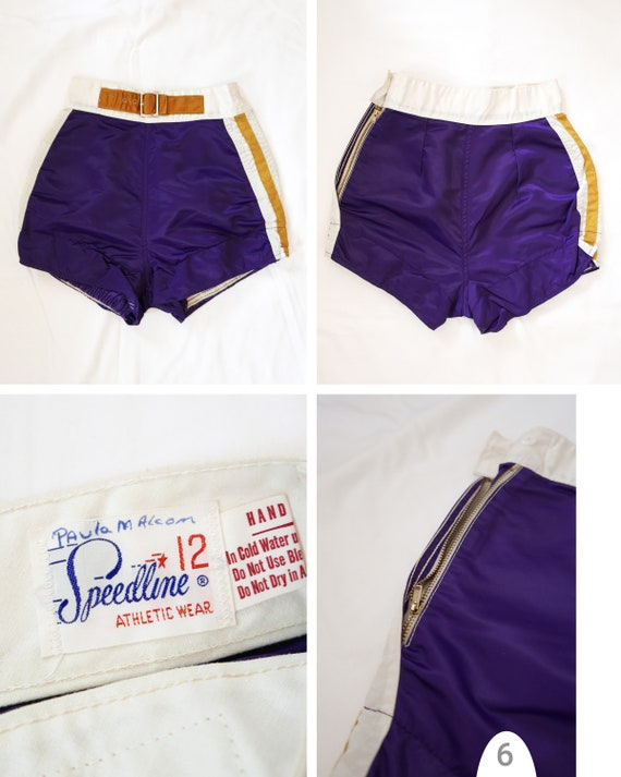 Shorts athletic womens | 1950's deadstock - image 5