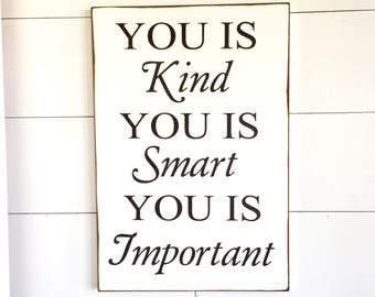 you is smart quote