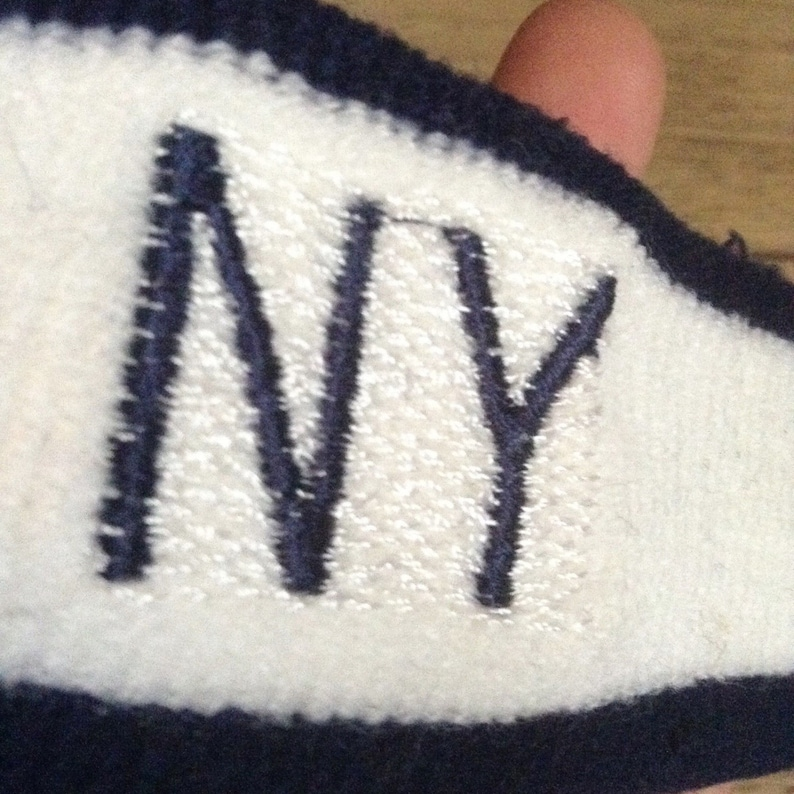 Be Unique ! NewOld Stock New York NY 1970s Vintage Old School Head Sweat Band Terry Cloth