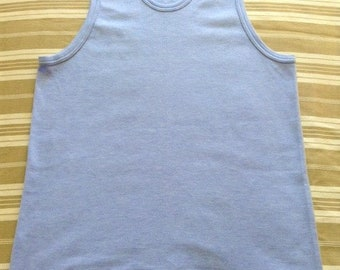 French Damart Men Vintage Winter Underwear Thermal Tank Top - Warm & Soft Thermolatyl Fabric - A Must-Have - Made in France - New - XL !