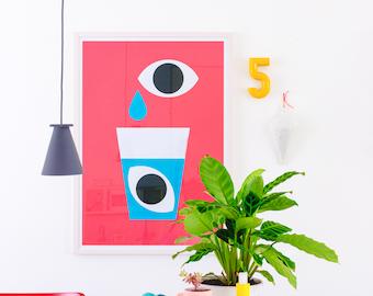 Eyes A1 Fine Art Giclee Print