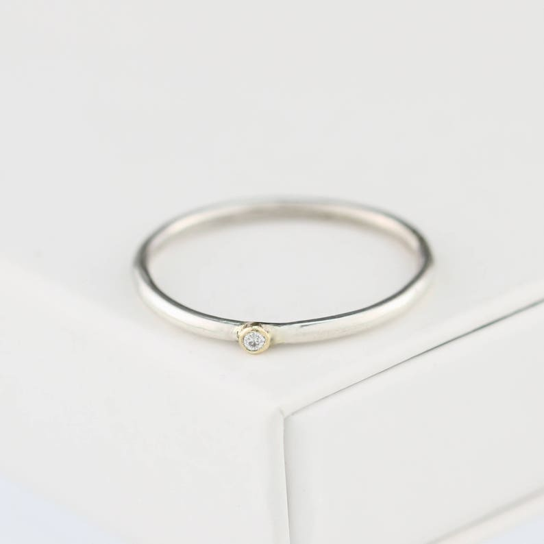 diamond wedding ring diamond engagement ring diamond stacking ring teeny diamond ring