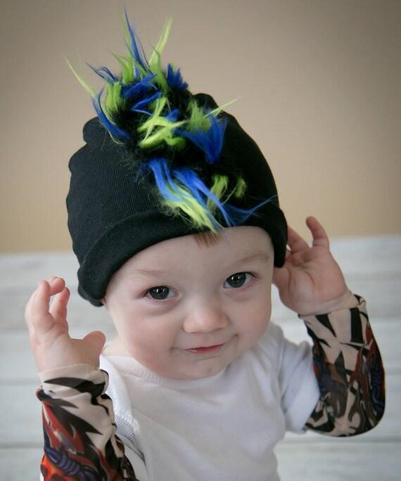 Mohawk Hut Mohawk Mohawk Baby Mohawk Beanie Faux Hawk   Etsy