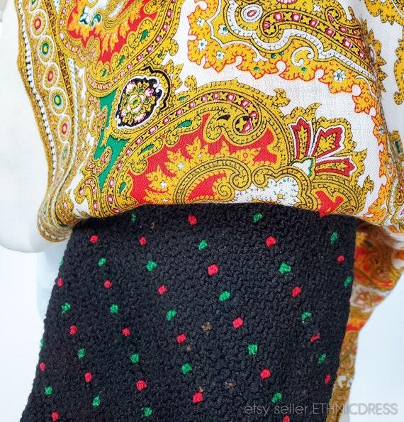 Vintage Hungarian Csango folk costume from Romani… - image 2