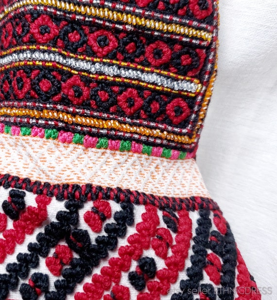Vintage Hungarian Csango folk costume from Romani… - image 5