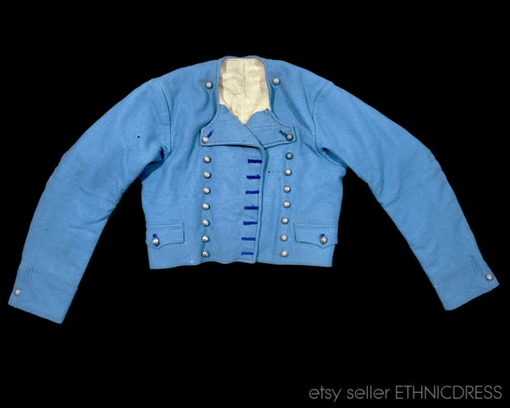 Antique 1800s folk costume jacket from Zahorie Slo
