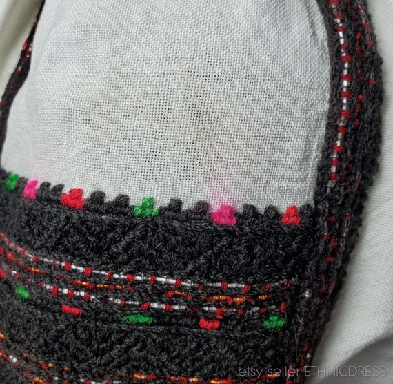 Vintage Hungarian Csango folk costume from Romani… - image 4