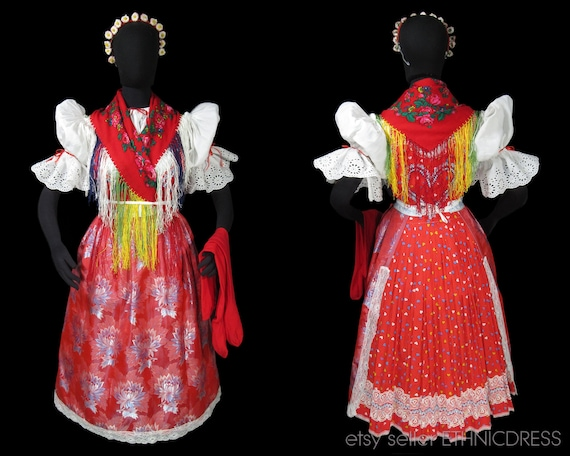 Czech folk costume from Chodsko Domazlice area, Bo