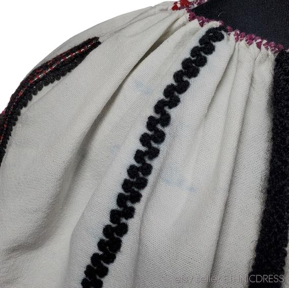 Vintage Hungarian Csango folk costume from Romani… - image 7