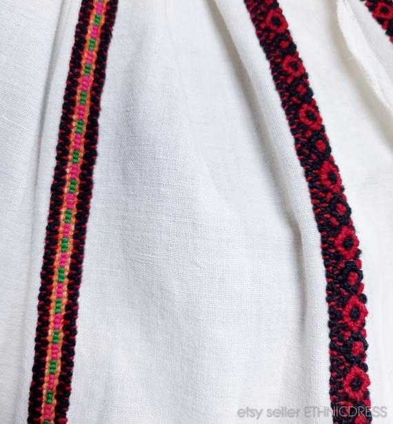 Vintage Hungarian Csango folk costume from Romani… - image 6