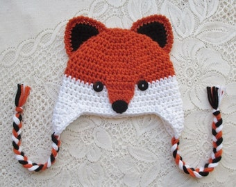 c3a3c8447 Baby fox hat | Etsy