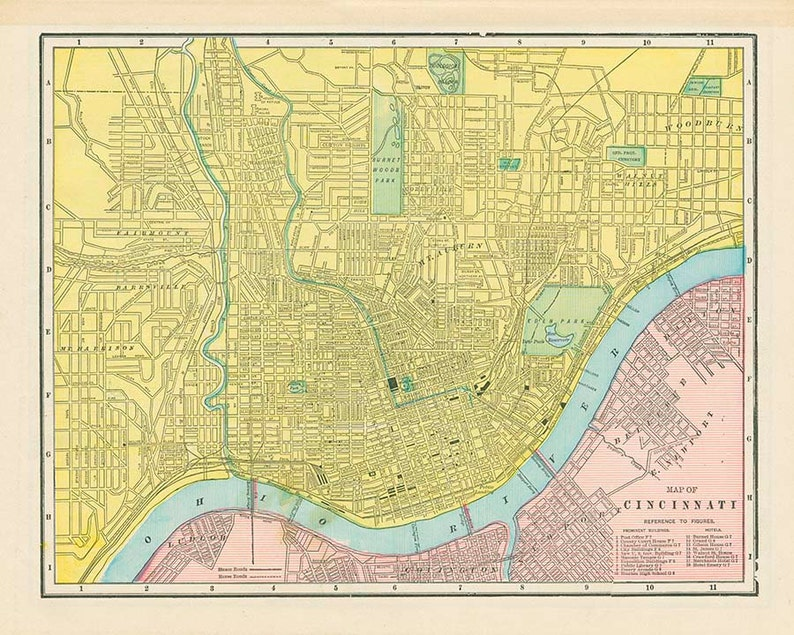 CINCINNATI CITY OHIO U.S.A. - High resolution downloadable file 1899 on cincinnati oh suburbs, cincinnati oh on the map, cincinnati area road map, cincinnati airport map, cincinnati on us map, greater cincinnati map, dayton ohio united states map, dayton cincinnati map, cincinnati ohio, cincinnati outline map, luxembourg luxembourg map, cincinnati usa man, cincinnati casino map, evansville tx map, cincinnati county, cincinnati homicide map, cincinnati transportation, cincinnati bridges map, cincinnati zip codes list, cincinnati city streets,