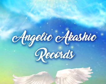Learn How To Work With The Angels in The Akashic Records, Angelic Akashic Records Book, Digital Download, Angel reading, tarot, Angels