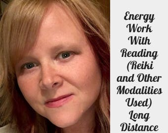 Energy Work With a Full Reading. Your choice of 20-60 Mins for each. For Human or Pets (Reiki and other modalities used) Voice Recorded Read